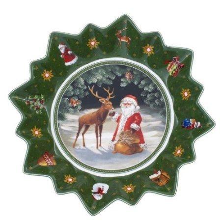 VILLEROY & BOCH TOY'S FANTASY Large bowl - deer with santa