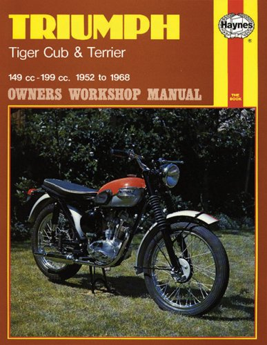 triumph tiger cub and terrier owner s workshop manual triumph tr4 owners manual triumph trophy owners manual