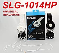 SONILEX UNIVERSAL HEAVY BASS HEADPHONES FOR ALL MOBILE PHONES WITH MIC FACILITY. SLG-1014