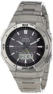 "Casio Men's WVA470DJ-1ACF ""Waveceptor"" Solar Atomic Ana-Digi Sport Watch"