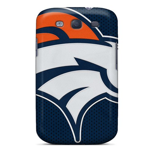 Meu1392Dvwh Tpu Phone Case With Fashionable Look For Galaxy S3 - Denver Broncos