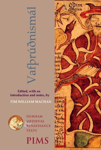 Vafthrudnismal (Durham Medieval and Renaissance Texts)