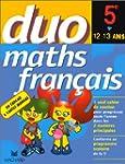 Maths - Fran�ais, 5e, 12-13 ans