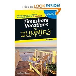 Timeshare Vacations For Dummies  - Lisa Ann Schreier
