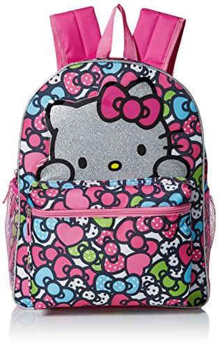 Hello-Kitty-Girls-Glitter-16-Inch-Backpack