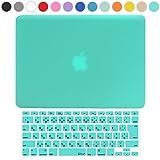 MS factory MacBook Pro 13 Retina ディスプレイ ケース + 日本語 キーボード カバー ハードケース 全13色カバー RMC series マックブック プロ レティナ 13.3 インチ Early 2015 対応 マット加工 ティファニー ブルー RMC-SETR13MMNT