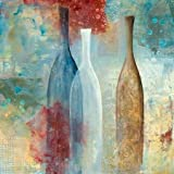 Aegean Glass By Tava Studios Art Print On Canvas 48x48 Inches