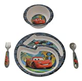 Disney/Pixar Cars 2 4-Piece Feeding Set