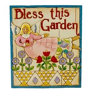 Jim Shore Angel Garden Plaque