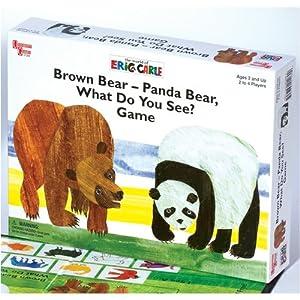 Brown Bear - Panda Bear, What Do You See? | Board Game ...