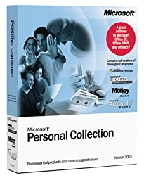 Microsoft Personal Collection 2001 [Old Version]