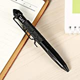 Eachbid Aircraft Aluminum Tactical Pen Self Defense Pen - Black