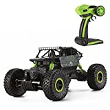 DeluxeRC 1:18 RC Rock Crawler Buggy 4WD - Green - 2.4 GHz