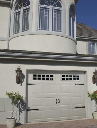 Decorative Garage Door Carriage House Hardware Kit Fleur