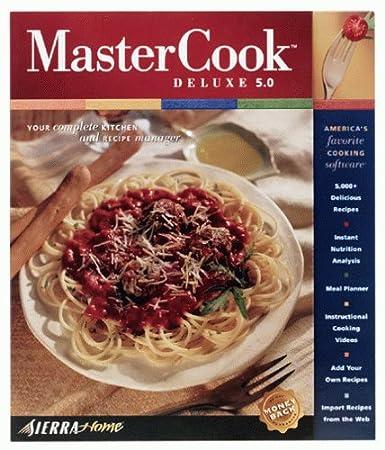 MasterCook Deluxe 5.0
