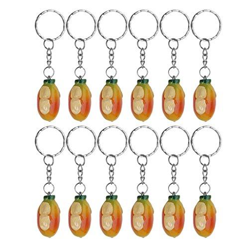 12pcs-mango-pendant-charm-keychain-keyring-novelty-gifts