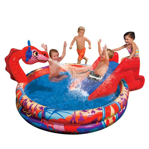 Banzai Slide N Splash Dragon Pool