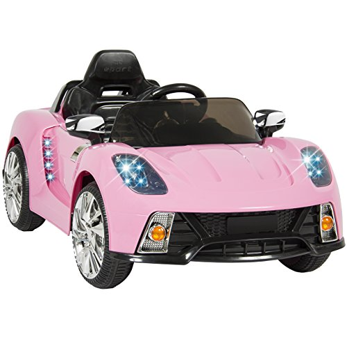 Best Choice Products Kids 12V Ride On Car with MP3 Electric Battery Power, Pink (Ride On Battery Car compare prices)