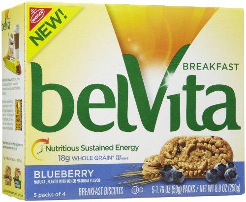 Belvita Blueberry Biscuit, 1.76 Oz, 5 Ct, 2 Pk