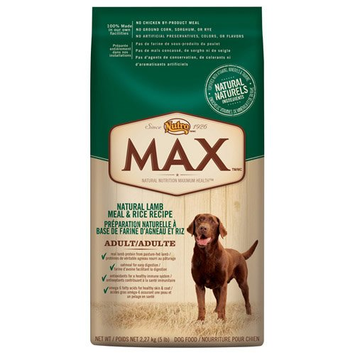 Nutro Max Beef Meal & Rice Dinner, 35 Lbs