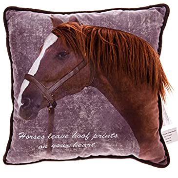 Horse Decorative Pillow : Decorative Pillows