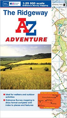 Ridgeway AZ Adventure Map