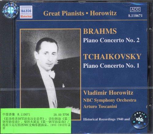 进口CD 霍洛维茨钢琴演奏历史录音 8.110671