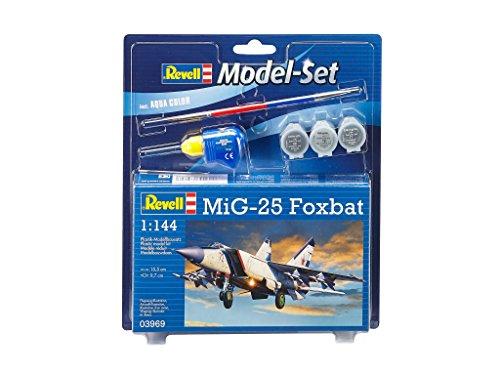 Revell-GmbH-1624813-cm-Mig-25-Foxbat-Modell-SET