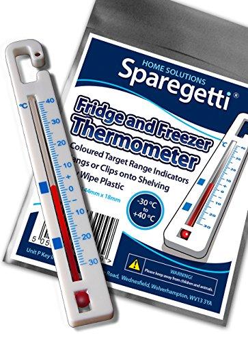 Kühlschrank Gefrierschrank Thermometer zum Aufhängen von sparegetti® * * *   * * *