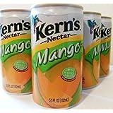 Kern's Nectar Mango 6 pk of 5.5 Oz (Pack of 2)