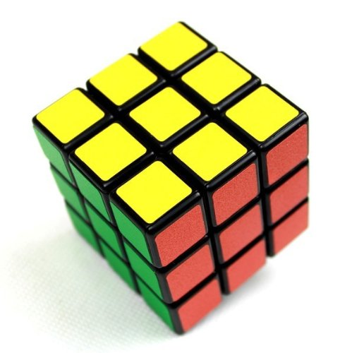 Shengshou @57mm Three layer Magic Puzzle Speed Cube Puzzle speed edition, Orginal challenge (Black)