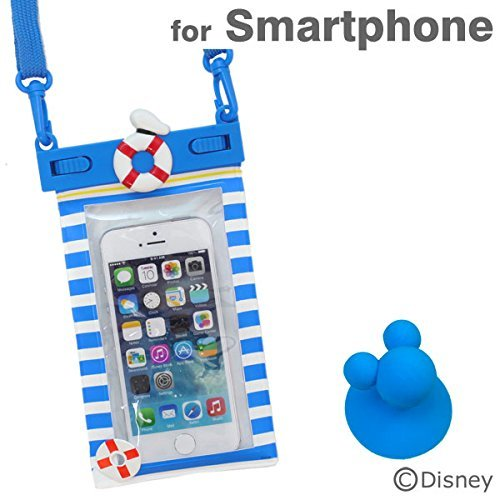 ディズニー 防水ケース IPX8 キャラクター スマホ カバー 各種 スマートフォン 対応 / iPhone5s / iPhone5c / iPhone5 / iPod / Disney Mobile / Xperia Z1f / Xperia A / Galaxy S4 / ドナルド