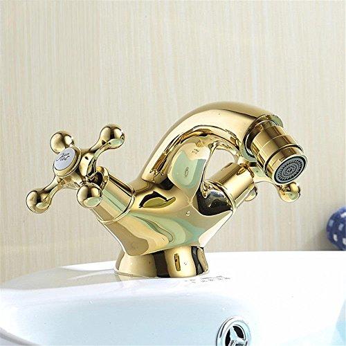 Modylee Europa stile oro Bidet rubinetto bagno bagno oro rubinetto miscelatore per bidet monocomando calda e fredda toccare libero spedizione AL - 7313K rubinetto