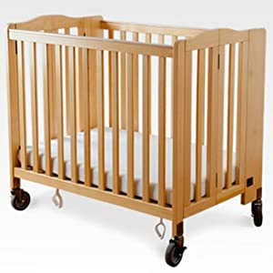 Simmons Simmons Foldaway Evacuation Crib -, Natural, Wood