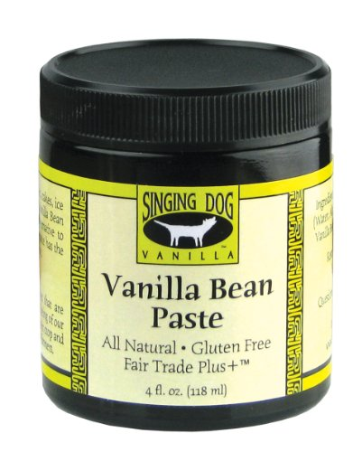 Singing Dog Vanilla  Vanilla Bean Paste, 4-Ounce Bottles (Pack of 2)