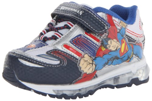 Favorite Characters Boy'S Superman? Lighted 1Sus352 (Toddler/Little Kid) Silver 10 Toddler M front-1009281