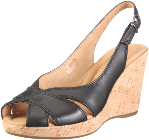 Gabor Women's Linburn Black Wedges 25.783.27 4.5 UK