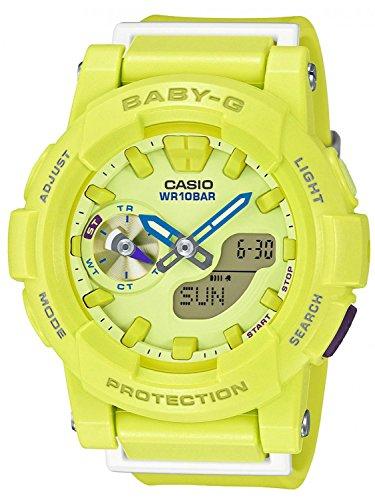 Casio BGA-185-9AER - Reloj de pulsera Mujer, resina, color Amarillo