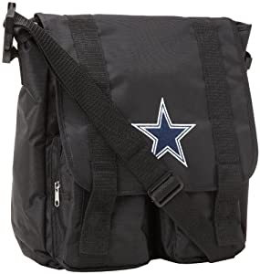 NFL Dallas Cowboys Sitter Tote, Black, Medium by Concept 1