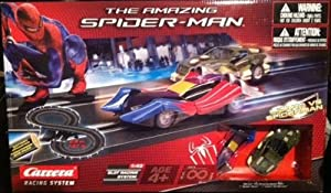 RJ Quality Products The Amazing Spider-Man Battery 1:43 Scale Slot Car Racing Track (Lizard vs Spider-man) at Sears.com