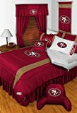 NFL San Fransisco 49ers Queen Bedding Set 5 Pc Comforter and Sheets