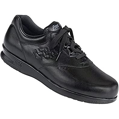 sas s freetime comfort shoe black 7w