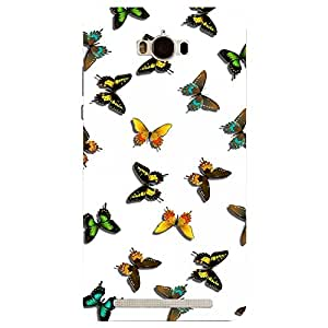 Asus Zenfone Max The Butterflies Print Printed Back Cover