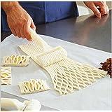 Edealing 1X New cuisson Outil Cookie Pie Pizza Pâtisserie Lattice Cutter Roller