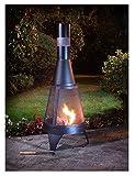Deluxe Garten-Feuerstelle & Outdoor-Kamin