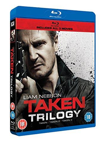 Taken Trilogy - 3-Disc Set ( Taken / Taken 2 / Taken 3 ) ( Taken / Taken Two / Taken Three ) [ NON-USA FORMAT, Blu-Ray, Reg.B Import - United Kingdom ]