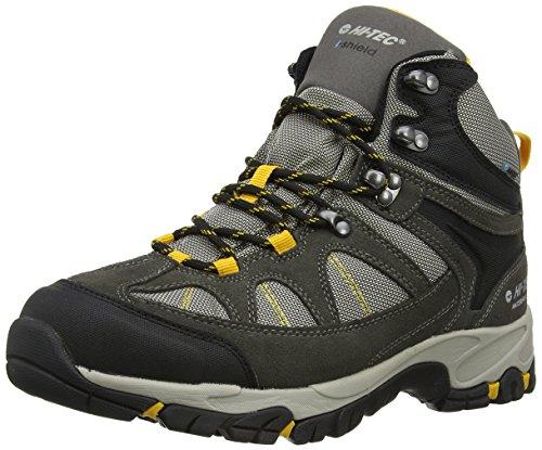 Hi-Tec Altitude Lite I Waterproof - Scarpe da Arrampicata Alta Uomo, Grigio (Charcoal/Warm Grey/Gold 051), 44 EU