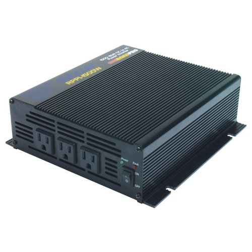 Roadpro RPPI-1500W 1200/3000 Watt DC to AC Power Inverter