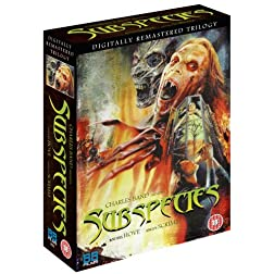Subspecies DVD Trilogy