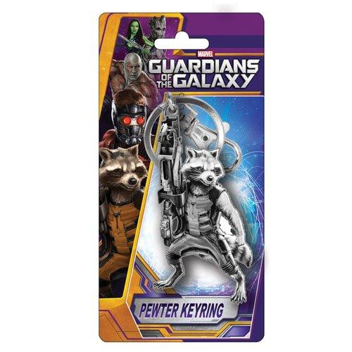 Monogram - Portachiavi Guardians Of The Galaxy - Rocket Raccoon Métal 6Cm - 0077764681769